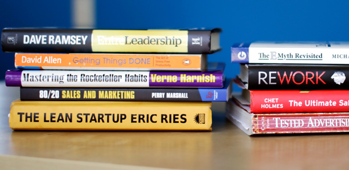 10 Books that Transformed My Small Business